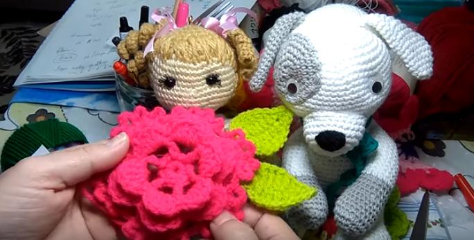 Como Fazer Flor de Crochê Fácil