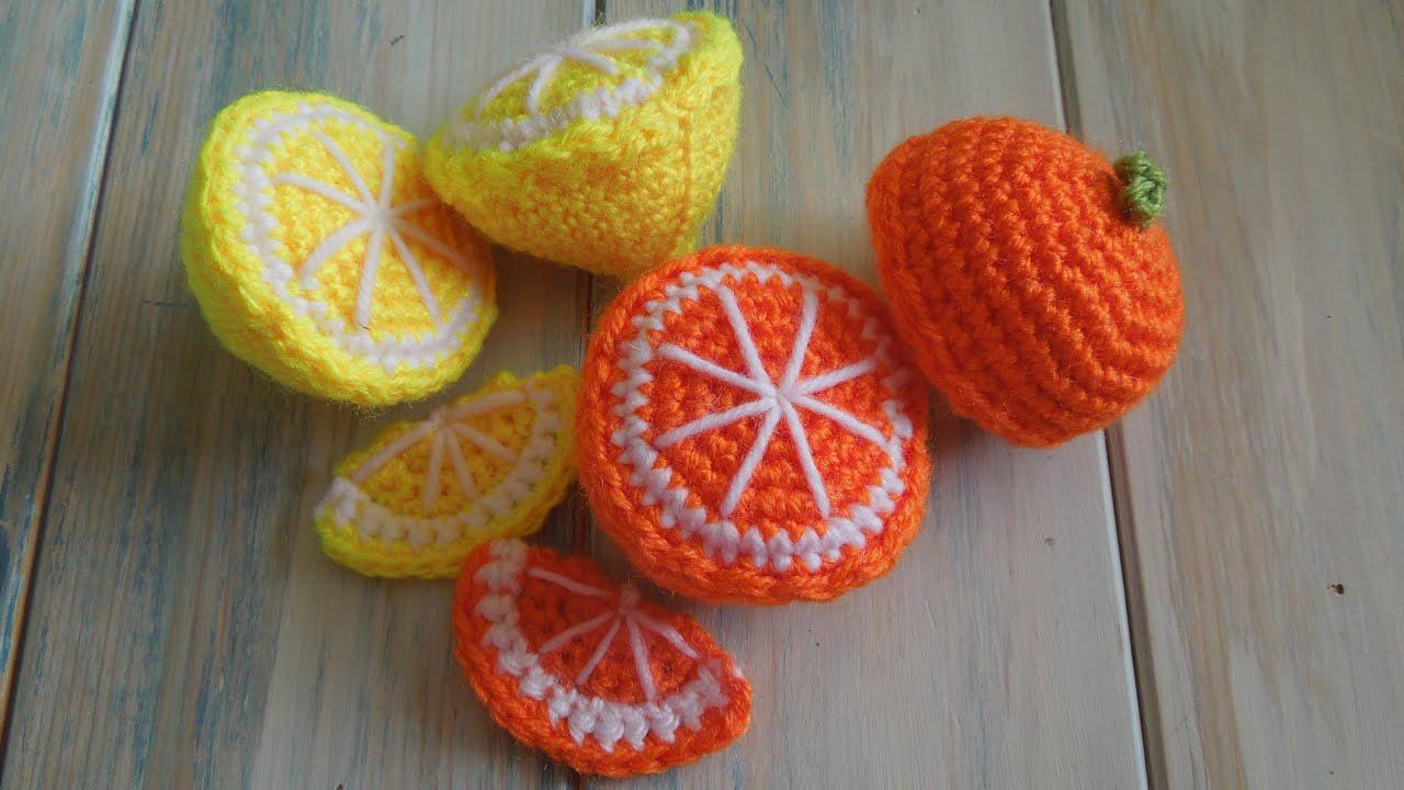 Como Fazer Limão em Crochê