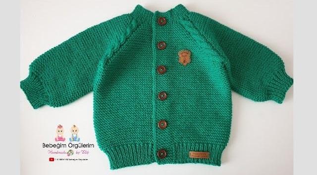 Blusa de Tricô Infantil para Bebê