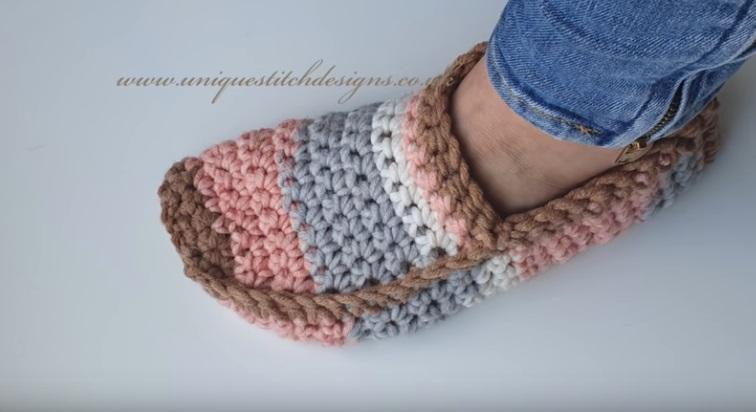 Sapato de Crochê Colors Candy Unisex