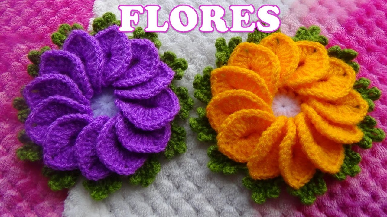 Flor de Crochê Formosa