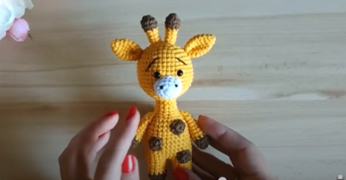 Amigurumi de Girafa Passo a Passo