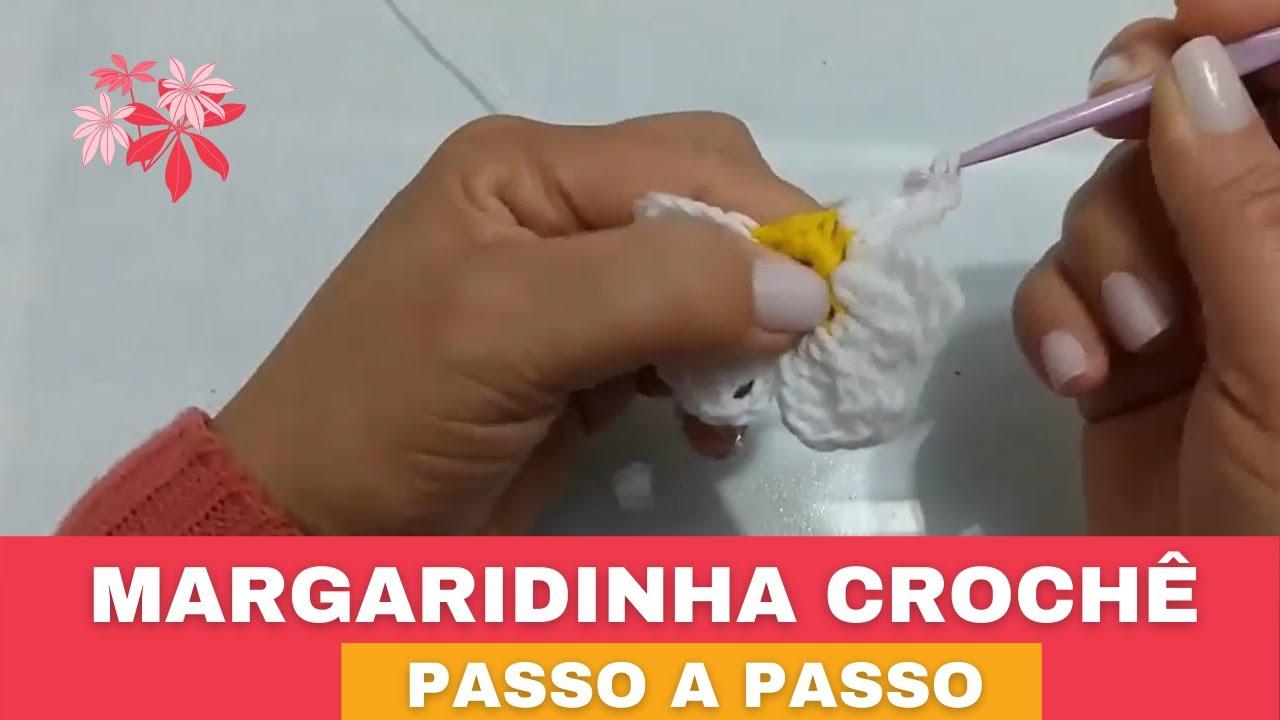 Flor de Crochê Margaridinha + Inspiração